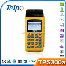 Telepower TPS300A Mobile POS Device commercial photo printers scanner qr code engine #key2#