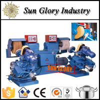 Vacuum absorption kitchenware surface covering machine
