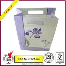 Best discounts customized paper gift bag&recycle shopping bag printed