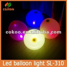 HOT!!Customized large Inflatable lighting balloon for anniversary event,led light up balloons accept Paypal