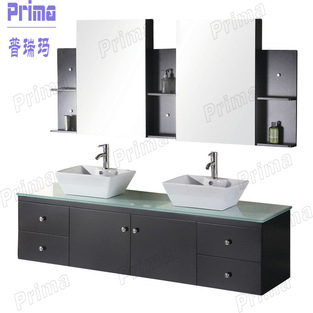 Hot Sale Soild Wood Bathroom Cabinets Set Bathroom Vanity