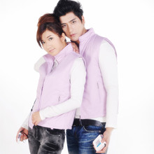 Electric Heated jacket 7.4v 6000mA outdoor Battery-operated Rechargeable heated Waistcoats heat vest warmer clothing