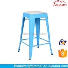 2015 Alibaba Colourful Metal High Chair/Industrial Bar Chair