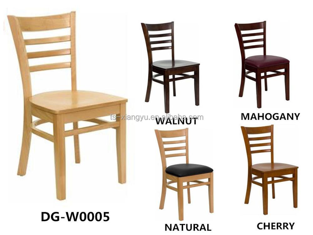 Hot Sale Restaurant Furniture Wooden Chair Beech Wood