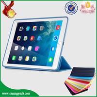 Factory smart PU leather case for ipad air