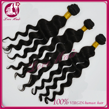 New fashion cheap virgin brazilian loose curl hair extenion wholesale brazilian loose curl hair