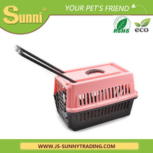 Luxury high quality trolley pet carrier