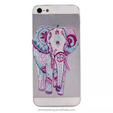 Water printing slim TPU cell phone case for iphone 5,for iphone 5 soft TPU cell phone case