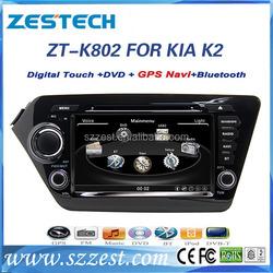 ZESTECH wince 6.0 8inch touch screen car dvd multimedia player for kia k2