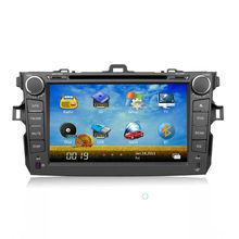 8 inch Toyota Collora 2 din Car Stereo GPS with 3G