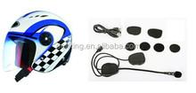 Shenzhen Best Sellers Of 2015 Motorcycle Helmet Bluetooth Headset/interphone for intercom