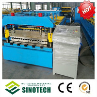 Hot Sale Full Automatic Arch New Condition Glazed Roof Panel Step Tile Cold Bending Roll Forming Machine Production Line