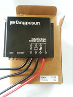 Solar panel system automatic 12V 24V PWM waterproof 15A solar charge controllers / regulators