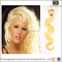 2015 New Style Body Wave 613 Color 100% Made In China