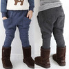 Kz1113 wholesale fashion children winter child clothes kids clothing boys Korean hot cheap poloar fleece long pants casual pants