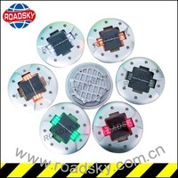 Different Colors Of Wave Metal Solar Road Studs For Safety