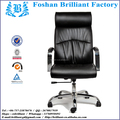 Novo e elegante médio back couro genuíno de jantar/cadeira de escritório bf-8927b-1