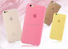 Ultra-thin frosted TPU mobile phone case for iPhone 6/plus