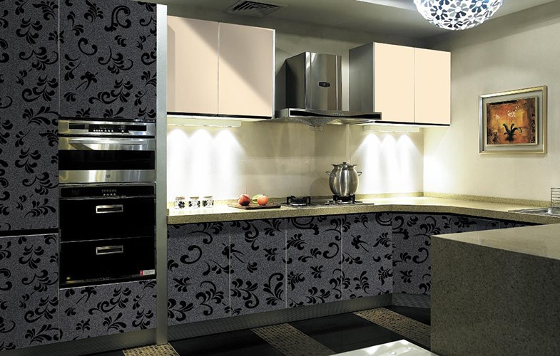Kitchen Cabinet Set : Set Kitchen Cabinet Furniture With Cheap Price,Modern Full Set Kitchen ...