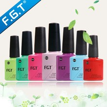FGT High Quality 3 steps uv/led gel nail polish for 2015 new fashion nails art