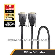 DVI dual link cable for computer,TV set,DVD players