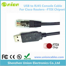 USB to Serial RJ45 Console / Rollover Cable