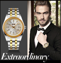 SKMEI 9098 High quality diamond mens gold watches with high quality and wholesale price