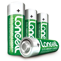 LONCELL Brand extra heavy duty 1.5v aa r6 um3 carbon zinc dry batteri