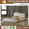 french king bed leather upholstered bed