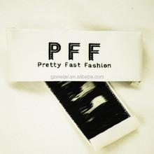 custom elegant woven clothing label
