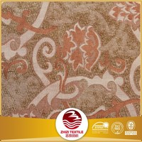 Export to Middle East of 100% polyester jacquard sofa fabric upholstery chenille fabric