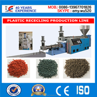 High Capacity plastic/ fabric waste recycling machinery