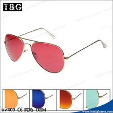 Free sunglasses samples Classical pilot oversize eyewear wholesale sun glasses China factory lowest price occhiali