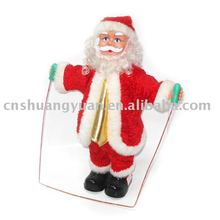 christmas decoration ,electric christmas santa claus