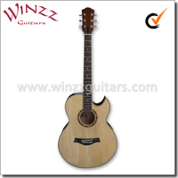 """[Winzz] 40"""" Cutaway Electric Acoustic Guitar With 4 Band EQ (AF4a8CE)"""