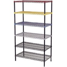 Home Used Epoxy Coated Metal Storage Wire Shelf Shelving/ISO Approval