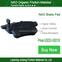 2015 motorcycle pad brake for sale SCL-2013080446 NAO brake pads