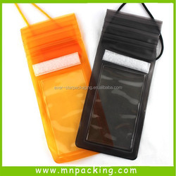 China Factory Customized PVC Waterproof Plastic Bag For Mobile Phone