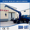 lift and carry hiab boom 10 ton truck mounted crane price in China