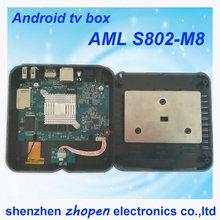 best internet tv box amlogic s802 m8 tv box