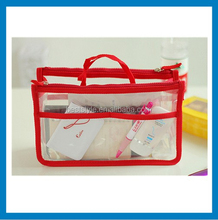 clear pvc cosmetic bag mini makeup bag with zipper clear vinyl cosmetic bags