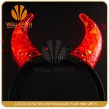 China manufacture glowing party led headband,party LED flashing headband,,high quality party supplies led hair band