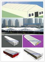 low-cost pvc cover with beautiful design warehouse tent