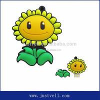 pvc flower usb flash drive