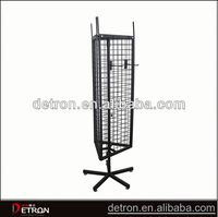 Standing Best selling metal swivel display stand