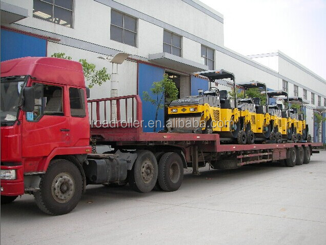 Three Wheel Road Roller And Static Road Roller