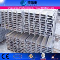ASTM A36 Q235 SS400 S235JR Standard Steel I Beam Sizes