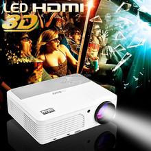 2600 Lumens Native 1080P 3D HD Projector with HDMI USB LED Projectors