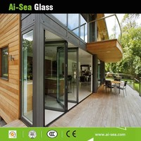 With Competitive Price For Buildings/Store Tinted/Stained Tempered Hollow Glass Used Sliding Glass Doors Sale