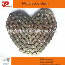 alibaba proveedor de la cadena de acero 40mn transportador de cadena 428
